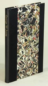 George W. Jones printer laureate by  Lawrence Wallis  - Hardcover  - 2004  - from Rulon-Miller Books (SKU: 52671)