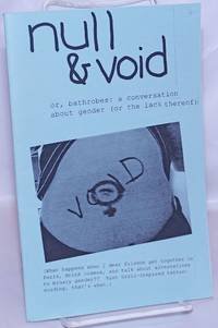 image of Null_Void or, bathrobes: a conversation about gender (or the lack thereof) [zine]