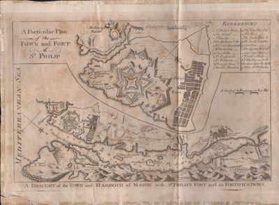 : n.p., 1756. Map. Fair. Approx. 11