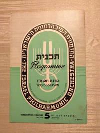 Israel Philharmonic Orchestra Program
