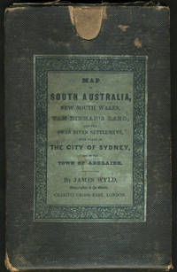 Map of South Australia, New South Wales, Van Dieman's Land and the Swan River Settlement, with plans of the City of Sydney, and of the town of Adelaide.  In the original slip case