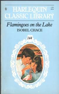 FLAMINGOES ON THE LAKE