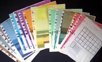 Procion Fiber Reactive Dye Study with Samples