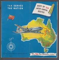 image of Maps of TAA Inter- Capital Routes Australia