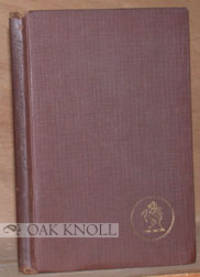 New York: Robert M. McBride & Co, 1923. cloth. Cabell, James Branch. small 8vo. cloth. 78 pages. A S...