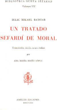 image of Tratado sefardi de moral