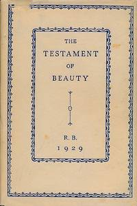 image of The Testament of Beauty. A Poem in Four Books