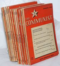image of The Communist; Vol. 14 no. 1 to  12, January to December, 1935 a magazine of the theory and practice of Marxism-Leninism