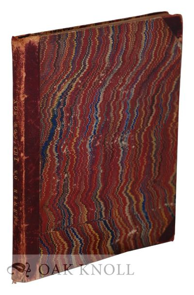London, United Kingdom: Sampson Low, for the author, 1800. half leather over marbled paper covered b...