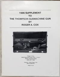 image of 1986 Supplement to the Thompson Submachine Gun