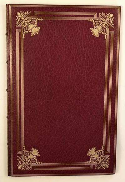 Spenser, Edmund. Prothalamion: Epithalamion. Boston: Houghton Miffl in, 1902. No. 16 of 400 numbered...