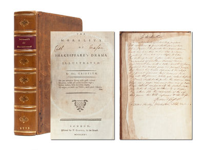 London: T. Cadell in the Strand, 1775. First edition. Contemporary calf rebacked to style with moroc...