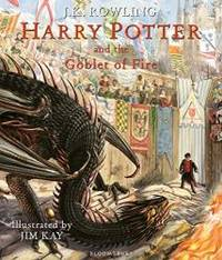 image of Harry Potter and the Goblet of Fire: Illustrated Edition (Harry Potter Illustrated Edtn)