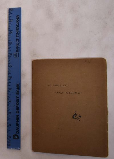 New York: Ernest Dressel North / Marion Press, 1908. Softcover. VG. light blue ink initials to top e...