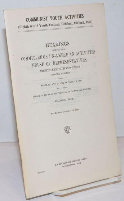 Washington DC: GPO, 1962. Pamphlet. vi, 1781-1836, v p., wraps, very good condition.