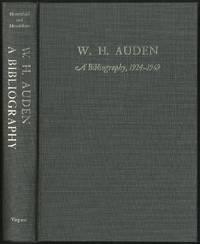 W.H. Auden A Bibliography 1924-1969