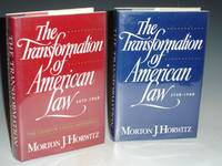 image of The Transformation of American Law (2 Volumes set); Vol. I, 1780-1880; Vol. II, 1880-1980