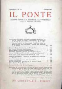 IL PONTE - OTTOBRE 1961
