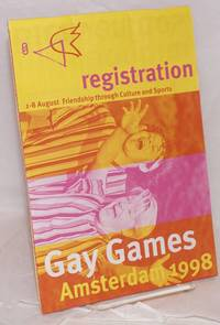 image of Gay Games Amsterdam 1998 August 1-8 friendship through culture and sports [registration booklet]