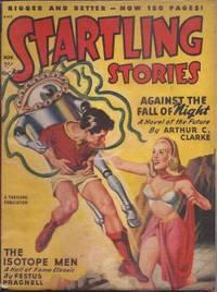 """STARTLING Stories: November, Nov. 1948  (""""Against the Fall of Night"""")"""