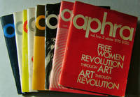 APHRA The Feminist Literary Magazine; Eight Issues (Vol 1 No 2, Vol 2 No 1, Vol 4 No 2, Vol 4 No 4, Vol 5 No 1, Vol 5 No 3, Vol 5 No 4, Vol 6 No 1)
