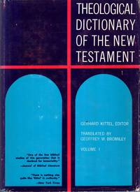 Theological Dictionary of the New Testament (ten volumes complete) by  Gerhard  Gerhard & Friedrich - Hardcover - 1974 - from Pendleburys - the bookshop in the hills and Biblio.com