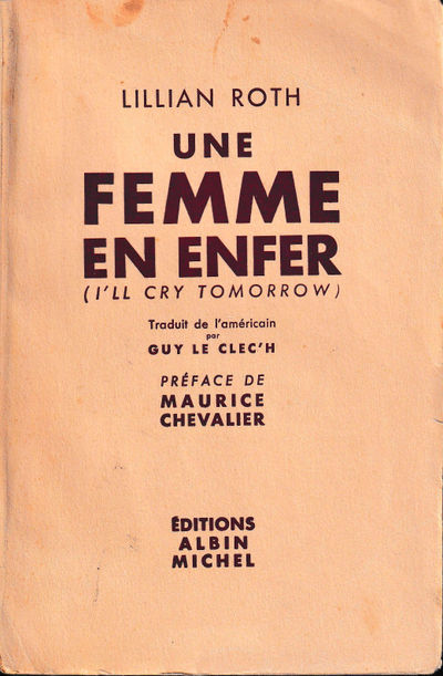 Paris: Albin Michel, 1956. Paperback. Good. 348 pp. Light creases and edge chips to the spine, light...