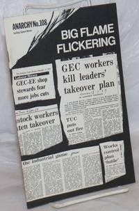 Anarchy.  No. 108 (Vol. 10 No. 2), February 1970: Big Flickering Flame