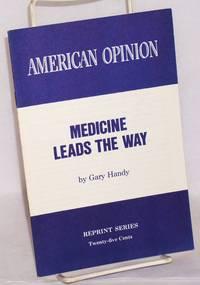 Medicine leads the way