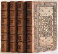 image of Merrymount Press] THE POETICAL WORKS OF JOHN MILTON, with a Life of the Author and Illustrations (4 Volumes, Complete)