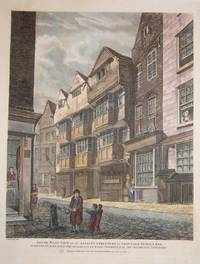 South West View of an Antient Structure in Ship Yard, Temple Bar, supposed to have been the Residence of Elias Ashmole, Esq. the Antiquary