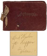 [Autograph Album]: Signatures of Joe Liggins and The Honeydrippers