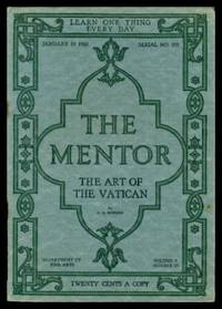 image of THE MENTOR - THE ART OF THE VATICAN - January 15 1920 - Serial Number 195 - Volume 7, number 23