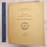 image of Melanges en Hommage a la Memoire de Fr. Martroye