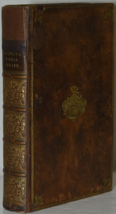 Cambridge: Printed by J. Bentham, 1750. Full Leather. Good binding. Thomas Chapman's On the Roman Se...