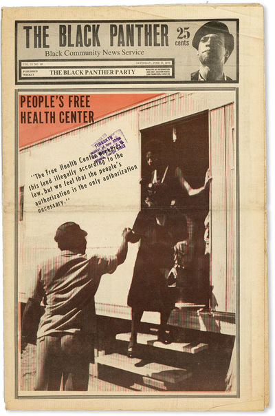 San Francisco: Black Panther Party, 1970. First Edition. Paperback. Contents include coverage of the...