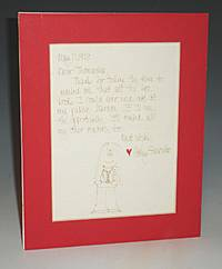1 Autographed Letter Signed with Caricature of Her