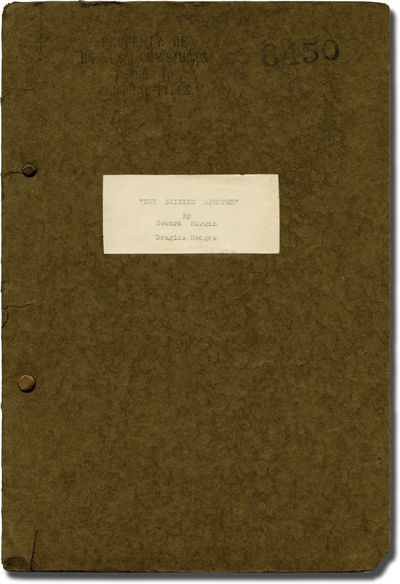 Universal City, CA: Universal Pictures, 1935. Treatment script for the 1936 film. Seen under the ear...
