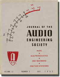 image of Journal of the Audio Engineering Society, Vol. 13 No. 3, July 1965