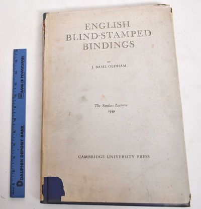 Cambridge : University Press, 1952. Hardcover. Good/Fair (Light foxing mainly to pages at beginning ...