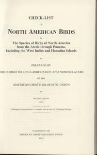 image of Check-List of North American Birds, 6th Edition