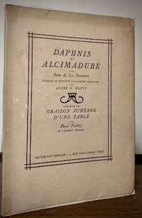 image of Daphnis Et Alcimadure; Illustre De Quatore Eaux Fortes Originales Par Andre E. Marte Precede De Oraison Funebre D'Une Fable Par Paul Valery de L'Acadamie Francaise