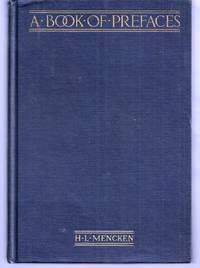 image of A BOOK OF PREFACES