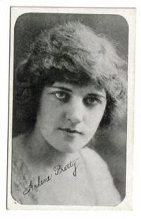 image of An Original 1917 Kromo Gravure Photo Card of the Film Star Arlene Pretty