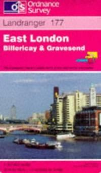 image of East London, Billericay and Gravesend (Landranger Maps)