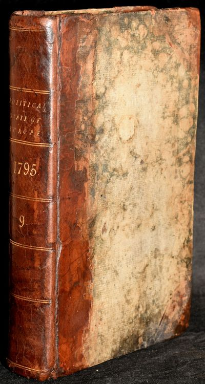 London: J. S. Jordan, 1795. First Edition. Full Leather. Very Good binding. This volume contains the...