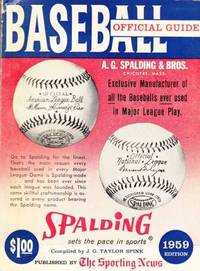 Baseball Guide and Record Book 1959