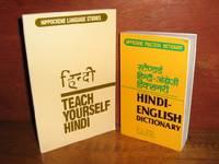 Hindi-English Dictionary-Teach Yourself Hindi-2 Tared Paperbacks