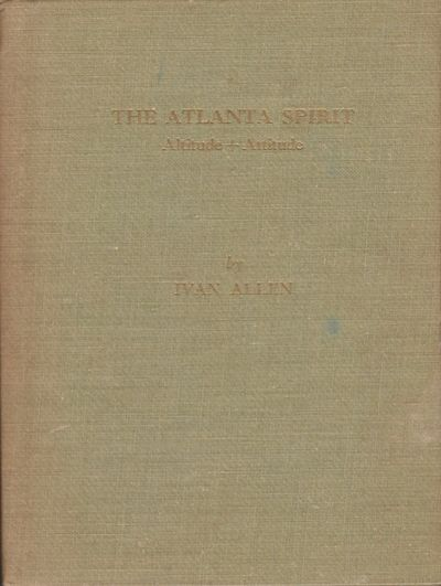 Atlanta: Published by Ivan Allen-Marshall Company Printers, Lithographers, Office Outfitters, 1948. ...