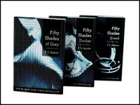 image of Fifty Shades Trilogy Shrinkwrapped Set